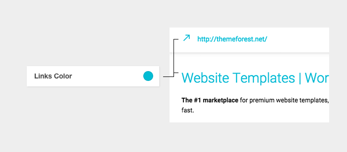 Tumblr Theme: Link - Customization