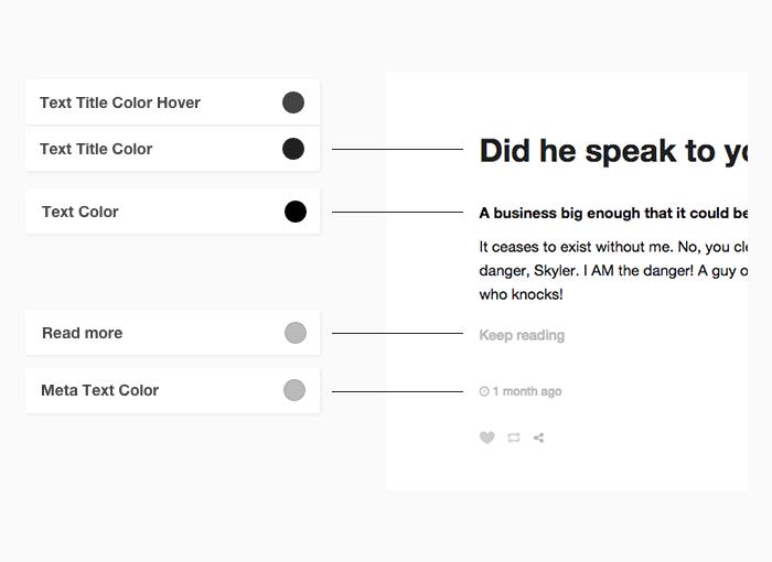 Tumblr Theme: Text - Customization