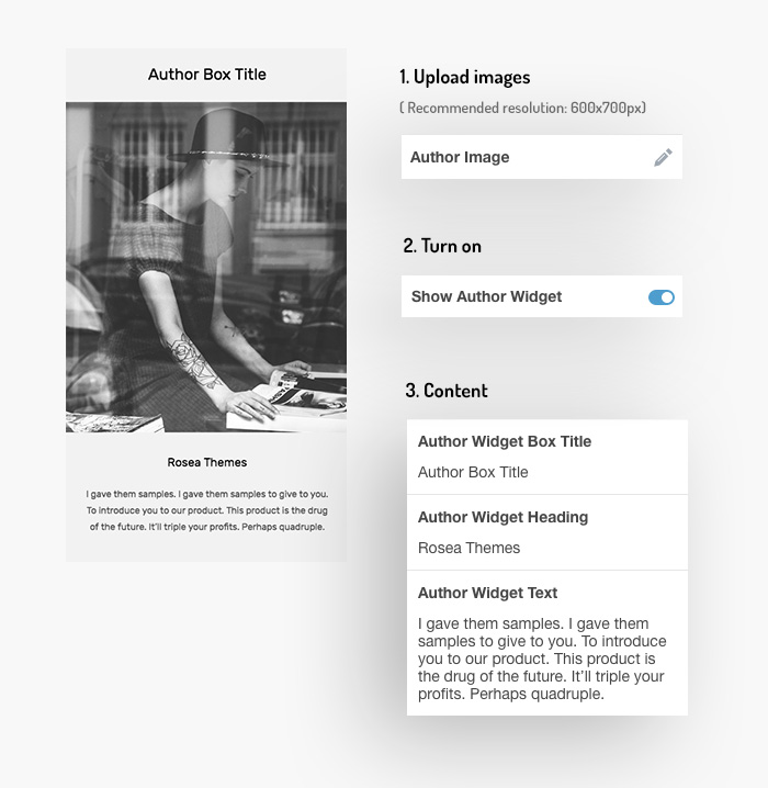 Tumblr Theme: Author