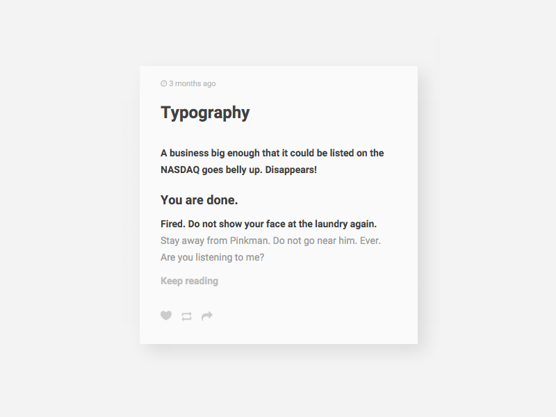 Tumblr Theme: Text - Customization